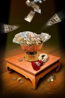 In Money We Trust by Mr-Ripley