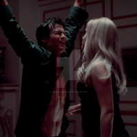 Rebekah y Damon by SmileyDignam