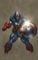 Captain America by M-Atiyeh