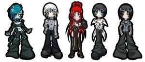 Chibi Army of DOOM by -sin-