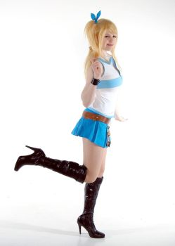 Lucy Heartfilia - Life Is A Fairy Tail by Flaming-Goddess