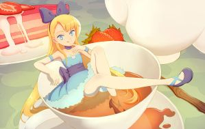 Tea Time Alice by Hello-Morphine