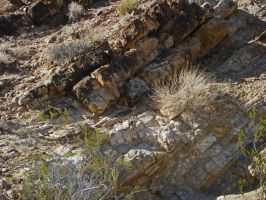 Great Unconformity at Frenchman Mt II by Synaptica