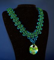 Sea Goddess Necklace by psychicsandswords