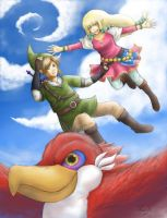 Skyward Sword by Daninha-LOL