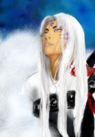 Dreamy Sesshomaru by florycica