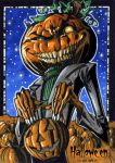 Hallowe'en Sketch Card - Chris Meeks 2 by Pernastudios