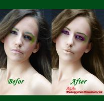Befor and After retouch 5 by RubyRosy