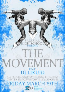The Movement Flier by cookiellvllonster
