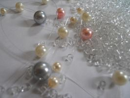 Glass Pearls and Seed Beads by AgtBauer24