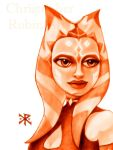 Ahsoka Tano Softbrushed by ChristopherRobinArtz