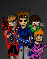 Eddsworld Dubstep Guns by amythystanime