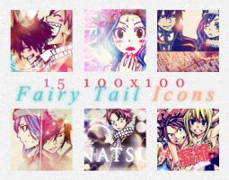 15 100 x 100 Fairy Tail Icons by deliquescedesign