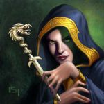 Everquest: Carved Ivory Dagger by PatrickMcEvoy