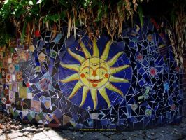 Sun Mosaic. by GermanCityGirl
