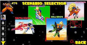 WHAT-IF:DBZSuperSonic Warriors 3 Story Mode Screen by sonicthehedgehog19