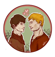 Merthur - collab w/mirrorsandapples by patroclusfasting