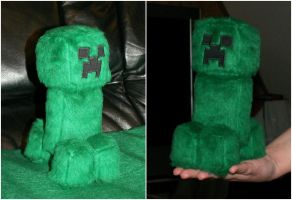 Little Creeper Plush by Starfighter-Suicune