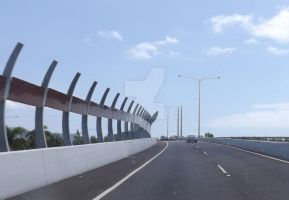 Southern End Overpass by tablelander