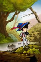 But initially, he wanted to be a pirate. by riordan-j-flynn