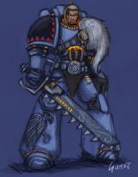 Space Wolves Greymane by sarroz