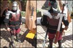 Customer in full armor by akinra-workshop