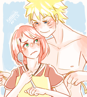 Naruto AU - Let's Do Some Stirring by Kirabook