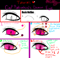 Tutorial: Ciel Phantomhive Demon's Eye by littlemissdead