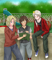 Teentalia Bad Touch Trio. by 1010Amy-Kia