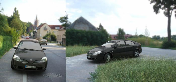 Nissan Primera P12 by ChrRambow