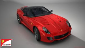 Ferrari 599 GTO 2 by RJamp