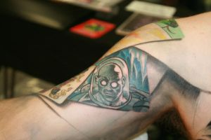 mr freeze tattoo by carlyshephard