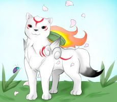 Another okami by LlamaRider