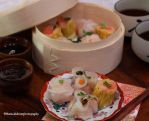 Mixed Steamed Dim Sum by theresahelmer