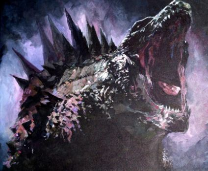 Godzilla- The King of Monsters by Shrptooth
