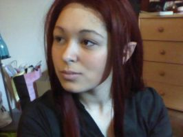 Tauriel Wig+Ears test by D2SCosplay