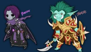 My WOW: Horde by Kevichan