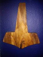 red oak Mjolnir by calicojack78
