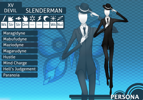 MM Persona: Slenderman by lacelazier