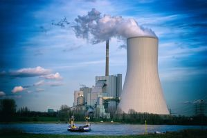 Coal-Fired Power Plant by doomed-forever