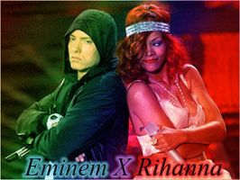 Eminem And Rihanna by WarriorDreamer12