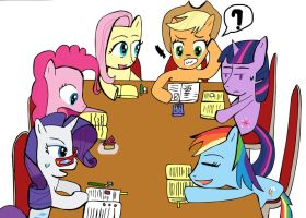 Group studying by Helsaabi