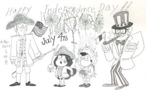 Happy Independence Day! by komi114