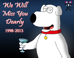 In Memory Of Brian Griffin... by ToferTheAkita