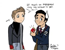Klaine The Box Scene by GabiTozati