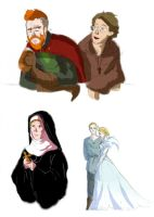 What do you mean, I can't make medieval AUs? (2) by kemiobsesses