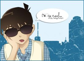 Shinichi is so cool by LS-Chan-Nad