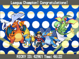 SoulSilver/StormSilver - Johto League Champion by Ricky47