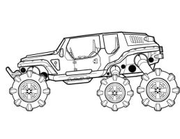 Buggy_Ground Vehicle concept4 by FeirceRaven
