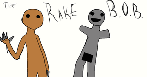 B.O.B and Rake by Anonymous--Art